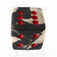 Crit Hit Ceramic Assassin's Ghost 6 Spot Dice
