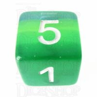 TDSO Layer Transparent Green D6 Dice
