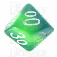 TDSO Layer Transparent Green Percentile Dice
