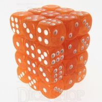 TDSO Bright Gem Fire Opal 36 x D6 Dice Set