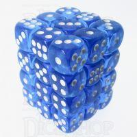 TDSO Bright Gem Sapphire 36 x D6 Dice Set