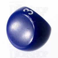 Tessellations Opaque Blue D3 Dice