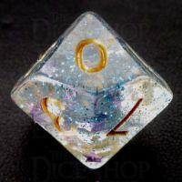 TDSO Confetti Twilight Star D10 Dice