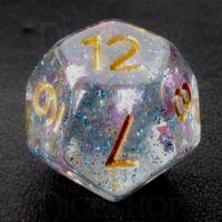 TDSO Confetti Twilight Star D12 Dice