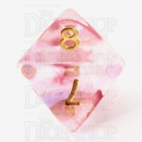 TDSO Pearl Swirl Clematis D8 Dice