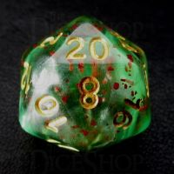 TDSO Luminous Evil D20 Dice