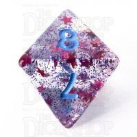 TDSO Confetti Cerise Star D8 Dice