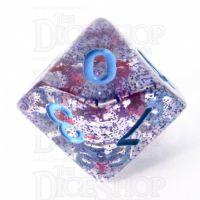 TDSO Confetti Cerise Star D10 Dice