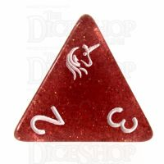 TDSO Dark Unicorn D4 Dice