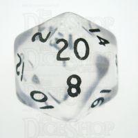 D&G Gem Clear D20 Dice