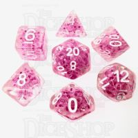 TDSO Sprinkles Beads Pink 7 Dice Polyset
