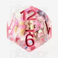 TDSO Sprinkles Multi With Pink D12 Dice