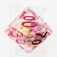 TDSO Sprinkles Multi With Pink Percentile Dice