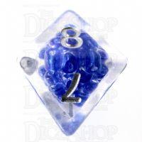TDSO Sprinkles Beads Purple D8 Dice