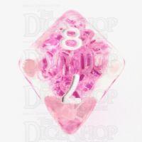 TDSO Sprinkles Beads Pink D8 Dice