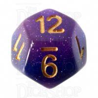 TDSO Layer Lavender Glitter D12 Dice