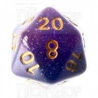 TDSO Layer Lavender Glitter D20 Dice
