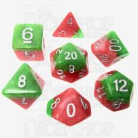 TDSO Layer Italian Ice 7 Dice Polyset