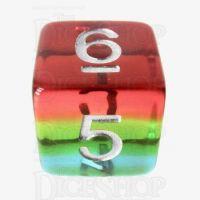 TDSO Layer Transparent Sunset D6 Dice
