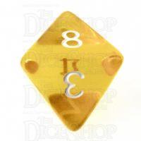TDSO Bright Gem Topaz D8 Dice