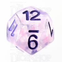 TDSO Pearl Swirl Pink & Purple with Purple D12 Dice