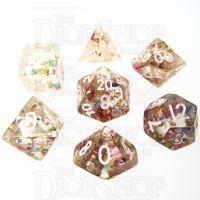 TDSO Confetti Party 7 Dice Polyset