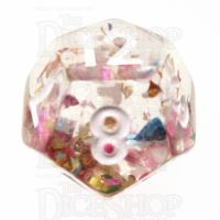 TDSO Confetti Party D12 Dice