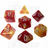 TDSO Solar Flare 7 Dice Polyset FABULOUS FIFTY