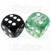 Role 4 Initiative Diffusion Neptunes Treasure DMC 18mm D6 Spot Dice