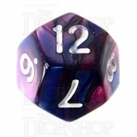 TDSO Duel Pink & Purple D12 Dice