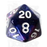 TDSO Duel Pink & Purple D20 Dice