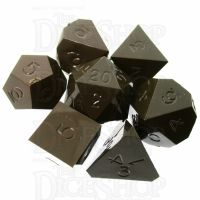 GameScience Opaque Coffee Brown 7 Dice Polyset