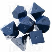GameScience Opaque Burnished Steel 7 Dice Polyset