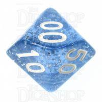 TDSO Glitter Blue Percentile Dice