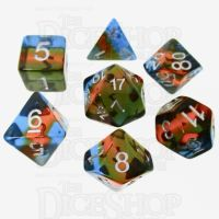 TDSO Layer Transparent Parallel Universe 7 Dice Polyset