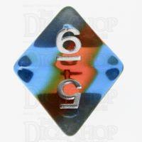 TDSO Layer Transparent Parallel Universe D8 Dice