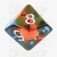 TDSO Layer Transparent Parallel Universe D10 Dice