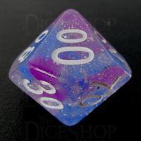 TDSO Galaxy Glitter Make A Wish Percentile Dice