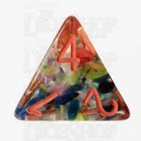 TDSO Regenerate Orange D4 Dice
