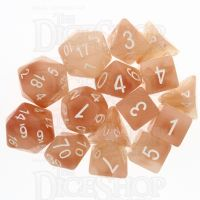 Role 4 Initiative Jade Pixie Wings 15 Dice Polyset