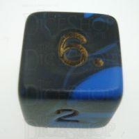 D&G Oblivion Blue & Black D6 Dice