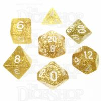 TDSO Glitter Gold 7 Dice Polyset