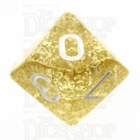 TDSO Glitter Gold D10 Dice