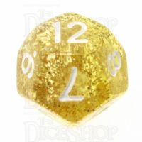 TDSO Glitter Gold D12 Dice
