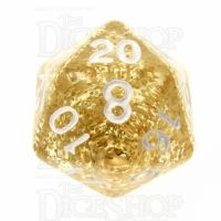 TDSO Glitter Gold D20 Dice