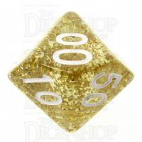 TDSO Glitter Gold Percentile Dice