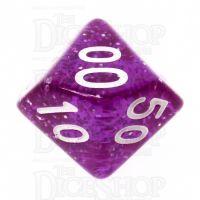 TDSO Glitter Purple Percentile Dice