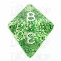 TDSO Glitter Green D8 Dice