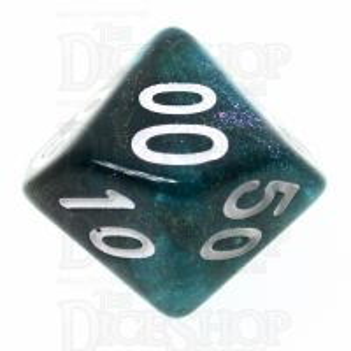 TDSO Photo Reactive Black & Blue Percentile Dice