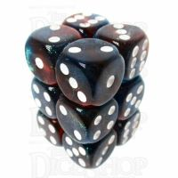 TDSO Photo Reactive Blue & Red 12 x D6 Dice Set